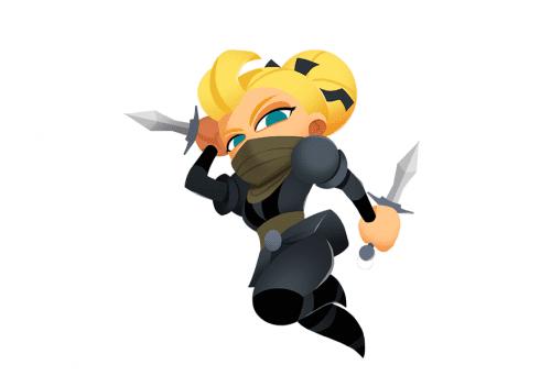 Magic Media - Blonde Ninja