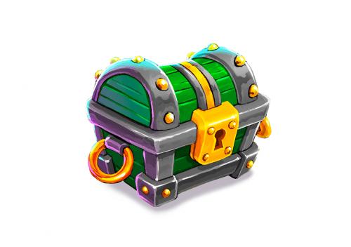 Magic Media - Green Treasure Chest